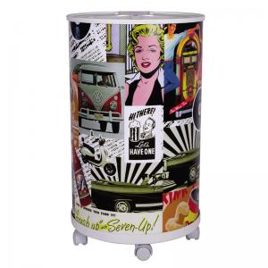 COOLER 75 LATAS ESTAMPA RETRO ANABELL
