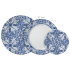 aparelho de jantar e cha 30 peças azulejo schmidt