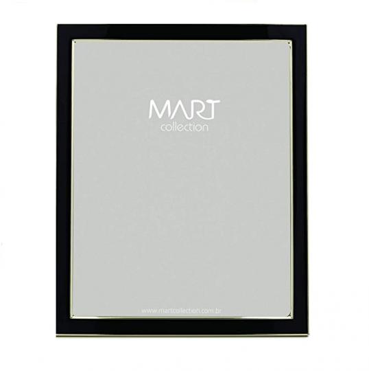 porta retrato preto 20x25 cm mart