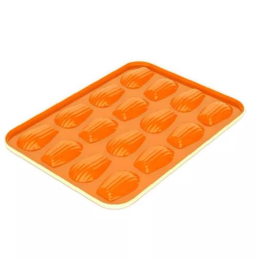 forma para16 madeleines laranja nordic ware