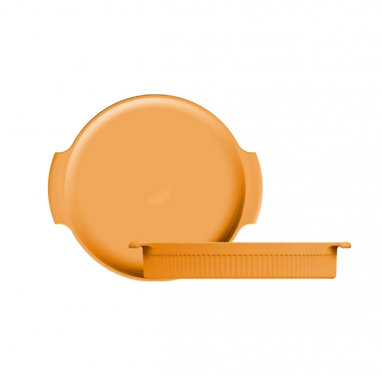 forma redonda amarela 25 cm germer