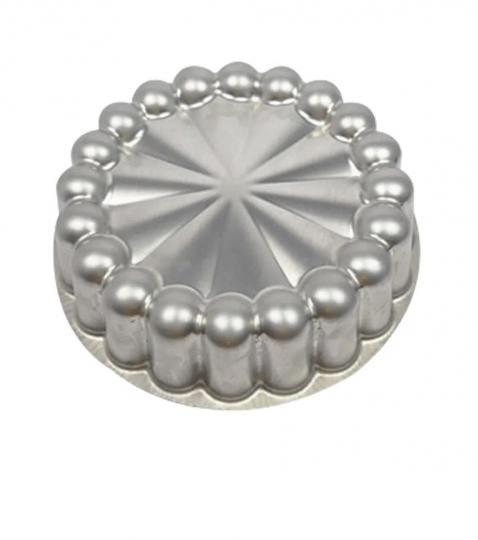 forma para bolo em alumínio ballerine decorada 22x6 cm