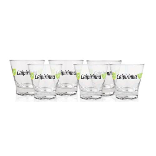 conjunto 6 copos caipirinha
