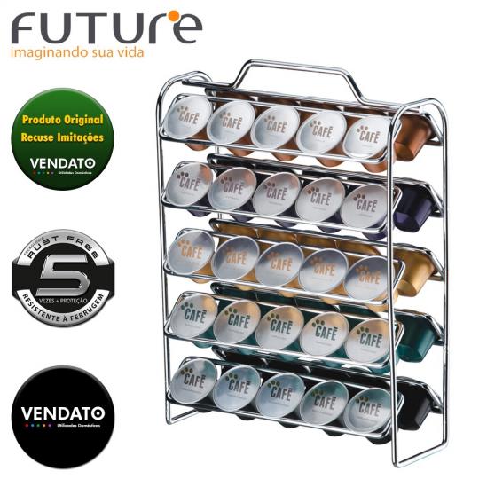 organizador de capsulas café future