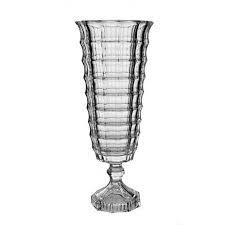vaso cristal 40cm square lhermitage