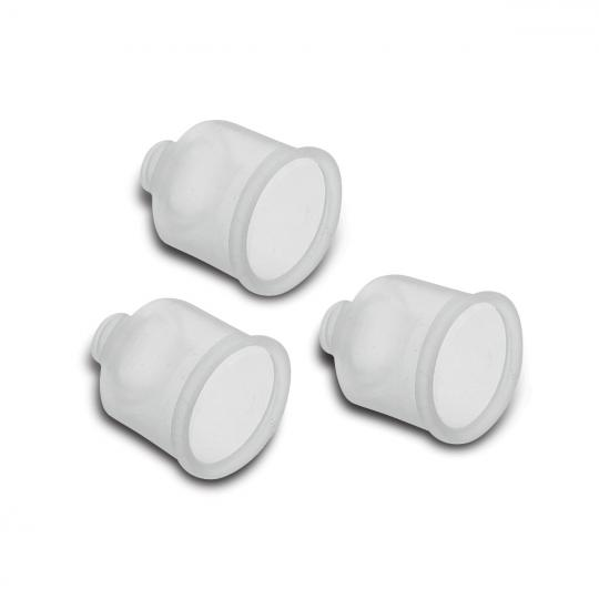 conjunto de vedação interna de silicone 3 peças para panela de pressão tramontina
