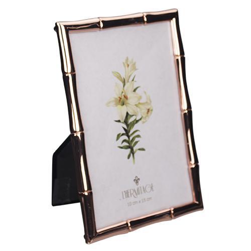 porta retrato bamboo cobre 10x15 lhermitage