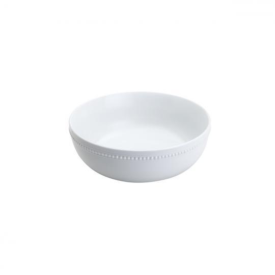 bowl porcelana branca  redondo 21x7 cm