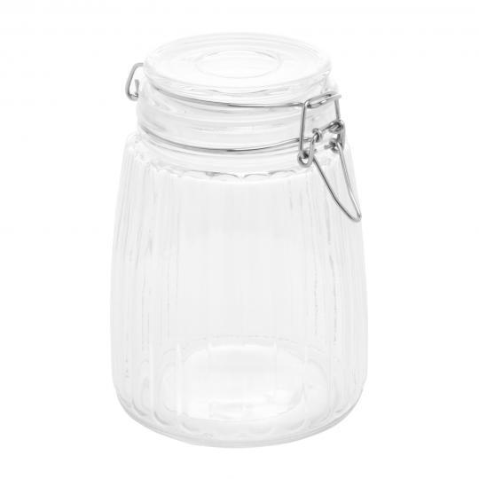 pote hermetico em vidro boross 1,5l