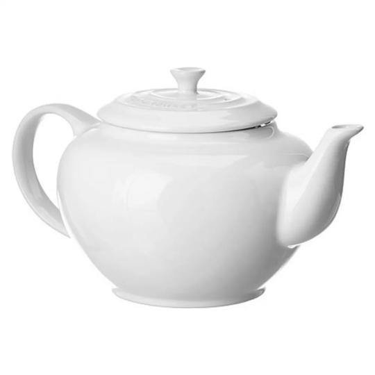 bule de chá  branco le creuset