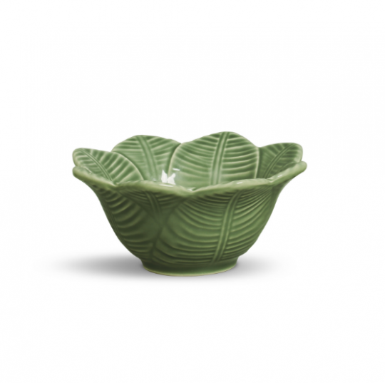 jogo 6 bowls leaves verde  porto brasil