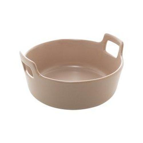 travessa porcelana nordica cinza matt 22x9cm bon gourmet /: