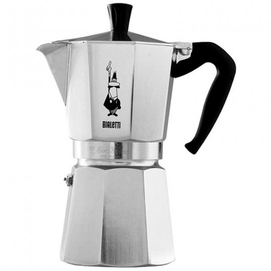 cafeteira nuova moka express 6 xícaras bialetti