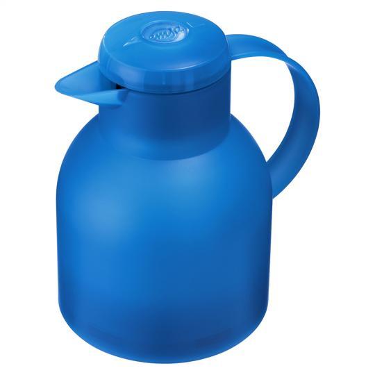 garrafa térmica samba quick press azul emsa