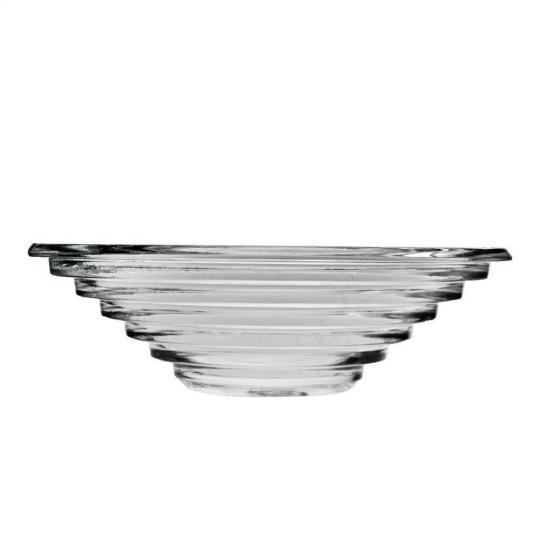 centro de mesa saturn em cristal ecológico 36.5cm l'hermmitage