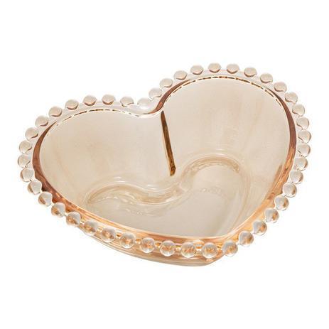 jogo de 2 bowls coração pearl âmbar 15x13 wolff /,