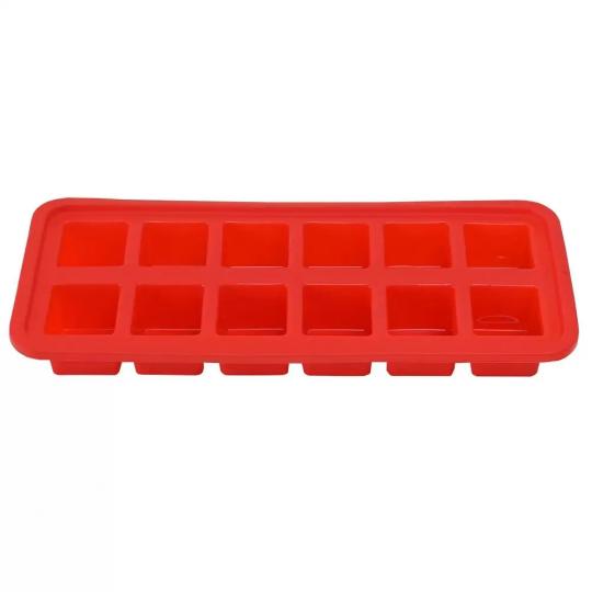 forma gelo quadrado vermelho mimo