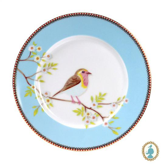 prato sobremesa early bird azul unitario pip studio