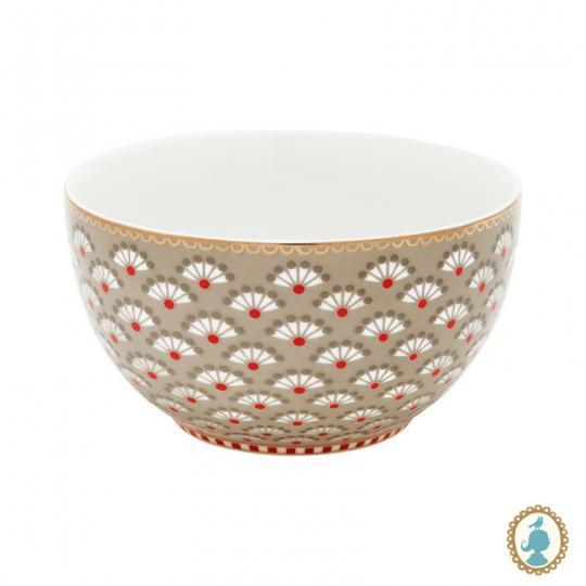 bowl floral bloomingtales caqui 10cm  pip studio