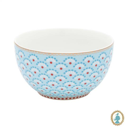 bowl floral bloomingtales azul 10cm pip studio
