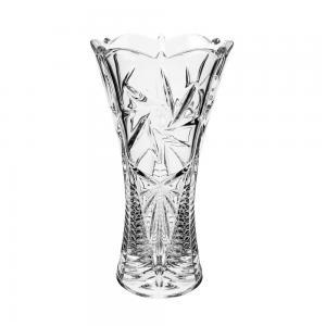 vaso cristal pinweheel 30cm bohemia