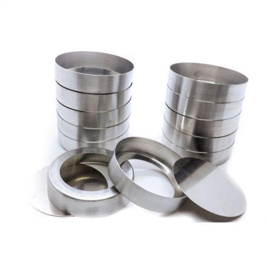 forma aluminio 12 unidades fundo falso 2,5x8,2 doupan