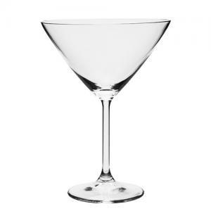 jogo de 6 taças gastro para martini 280ml bohemia