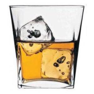 jogo 4 copos whisky carre passabahce