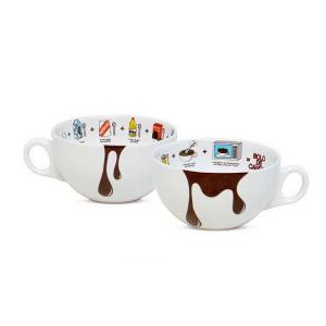 caneca decorada bolo 300ml oxford