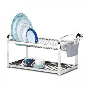 escorredor para 16 pratos aç0 inox com escorredor de talher brinox