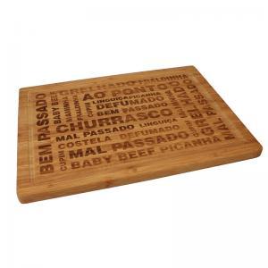 tabua de cortar bambu 39x29cm dynasty