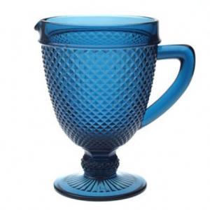 jarra verre azul mimo style