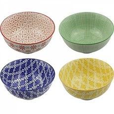 conjunto de bowl 4 peças  12x7cm