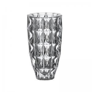 vaso cristal diamond 28cm bohemia