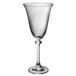 jogo de 6 taças alexandra para água decorada bohemia