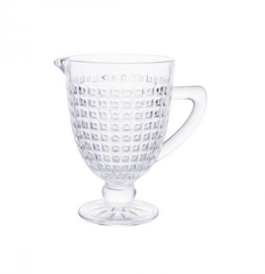 jarra chevalier 1l em vidro com pé lhermitage
