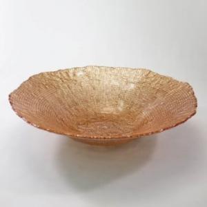 saladeira ondulada cobre vylux