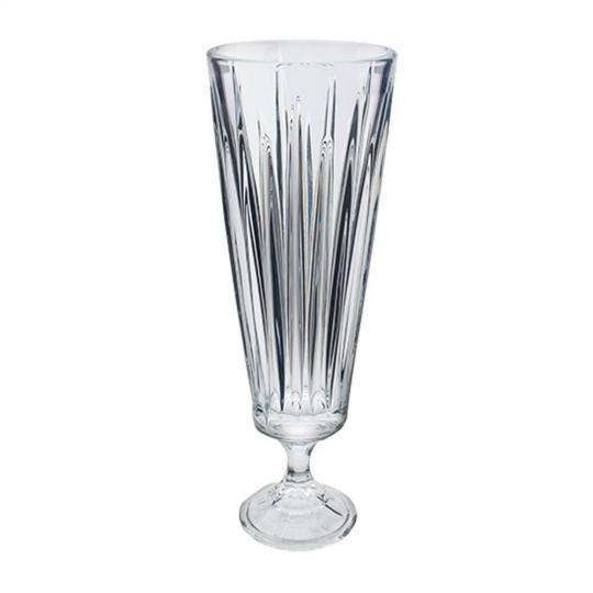 vaso com pe venus  37cm bohemia