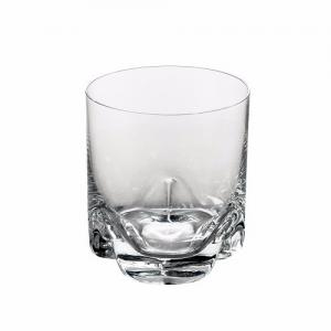 jogo com 6 copos whisky trio bohemia