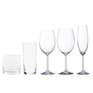 jogo de 30 taças e copos cristal gastro 57733 bohemia