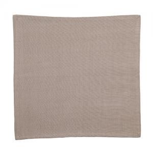 jogo 6 guardanapos tecido cáqui l hermitage