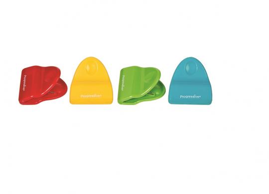 conjunto de clips para saco plastico progressive