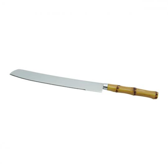 faca para pão bambu lyor
