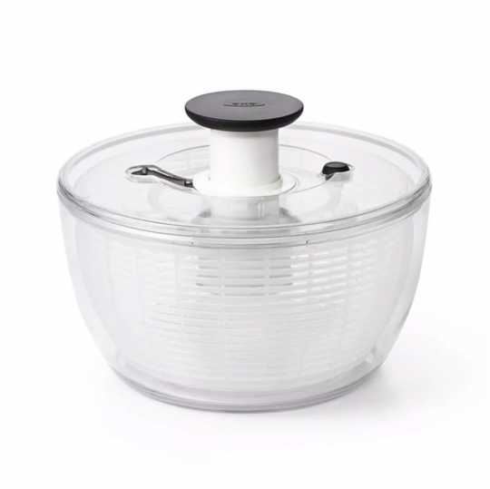 seca salada redonda transparente 5l oxo
