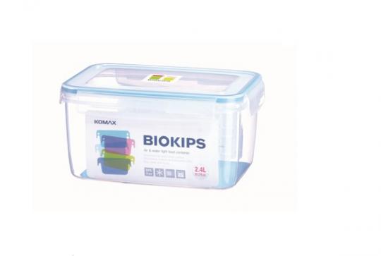 pote retangular 2,4l biokips
