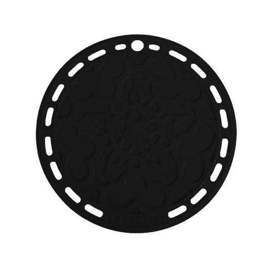 suporte silicone black onix  le creuset