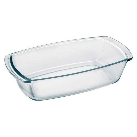 assadeira vidro retangular 1,8l biona