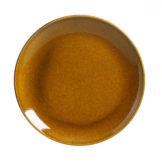 jogo 6 pratos de sobremesa coup stoneware âmbar porto brasil