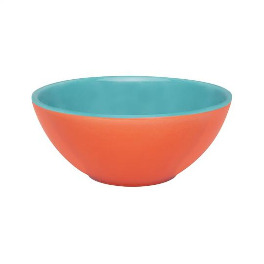 bowl 600ml laranja/verde  oxford