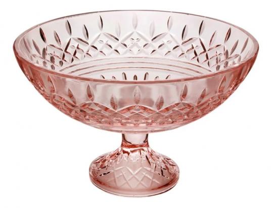 centro de mesa com pe lys rosa wolff /: